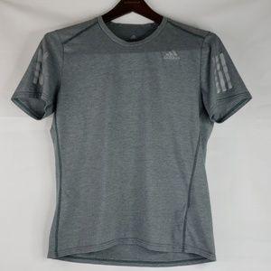 Addidas men's tshirt size Medium gray
